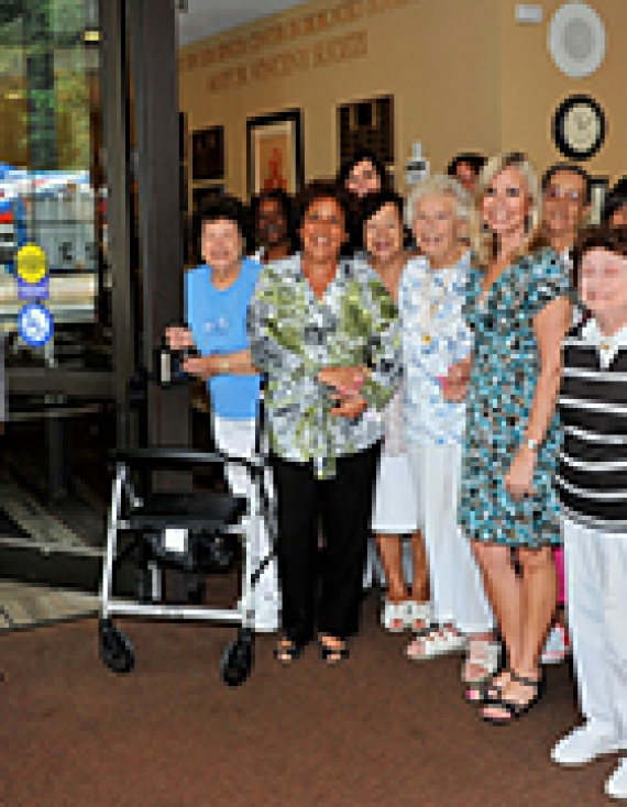 Glen Cove CDA and Nassau County Community Development Block Grant Funds New Handicap Accessible Doors for Glen Cove Senior Center
